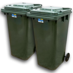 One off Clean – Two Bins      (single charge)
